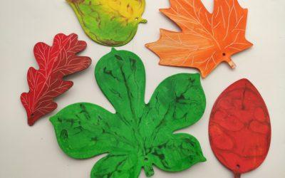 Podzimní dekorace – listy