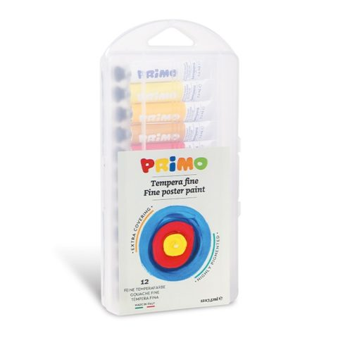 Temperové barvy PRIMO, tuby