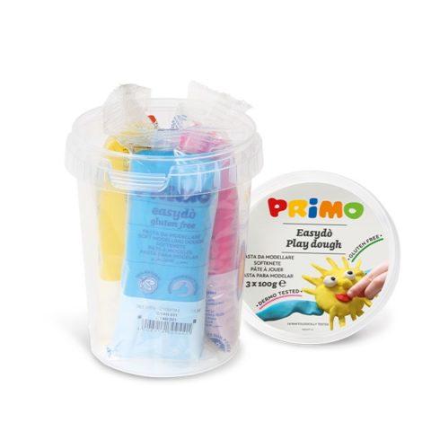 Sada mod. hmot PRIMO NATUR, 3 x 100g, mix barev, PP kyblík