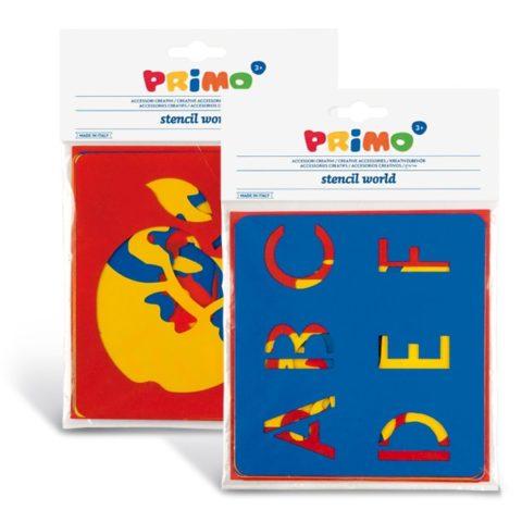 Plastové šablony PRIMO, sada 6ks