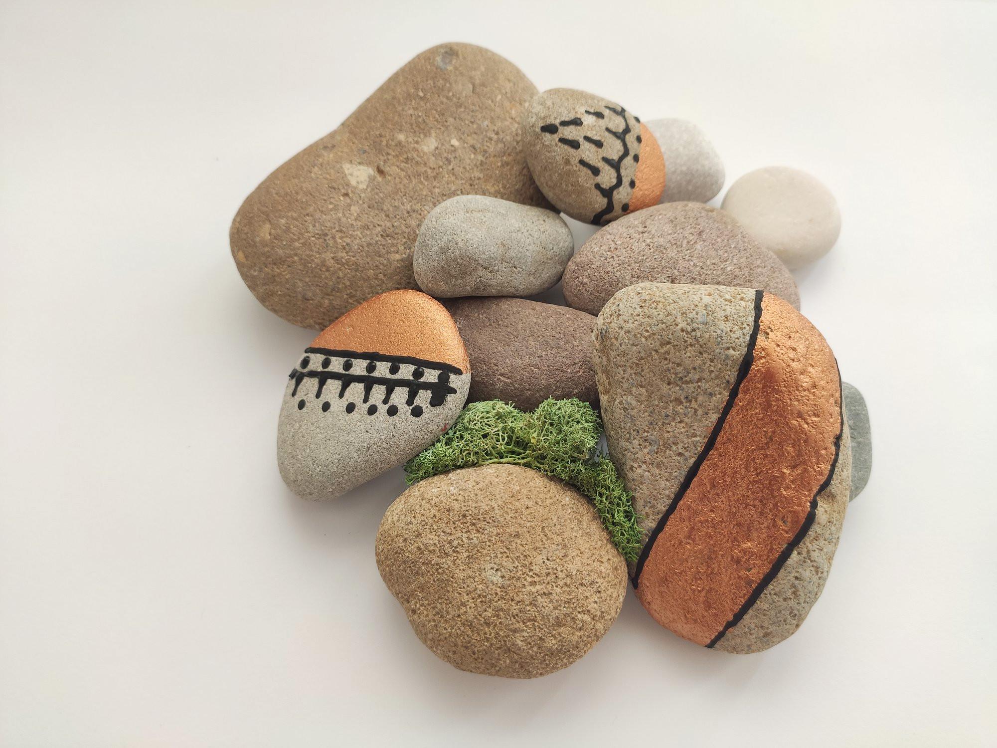 Tvoření s kamínky