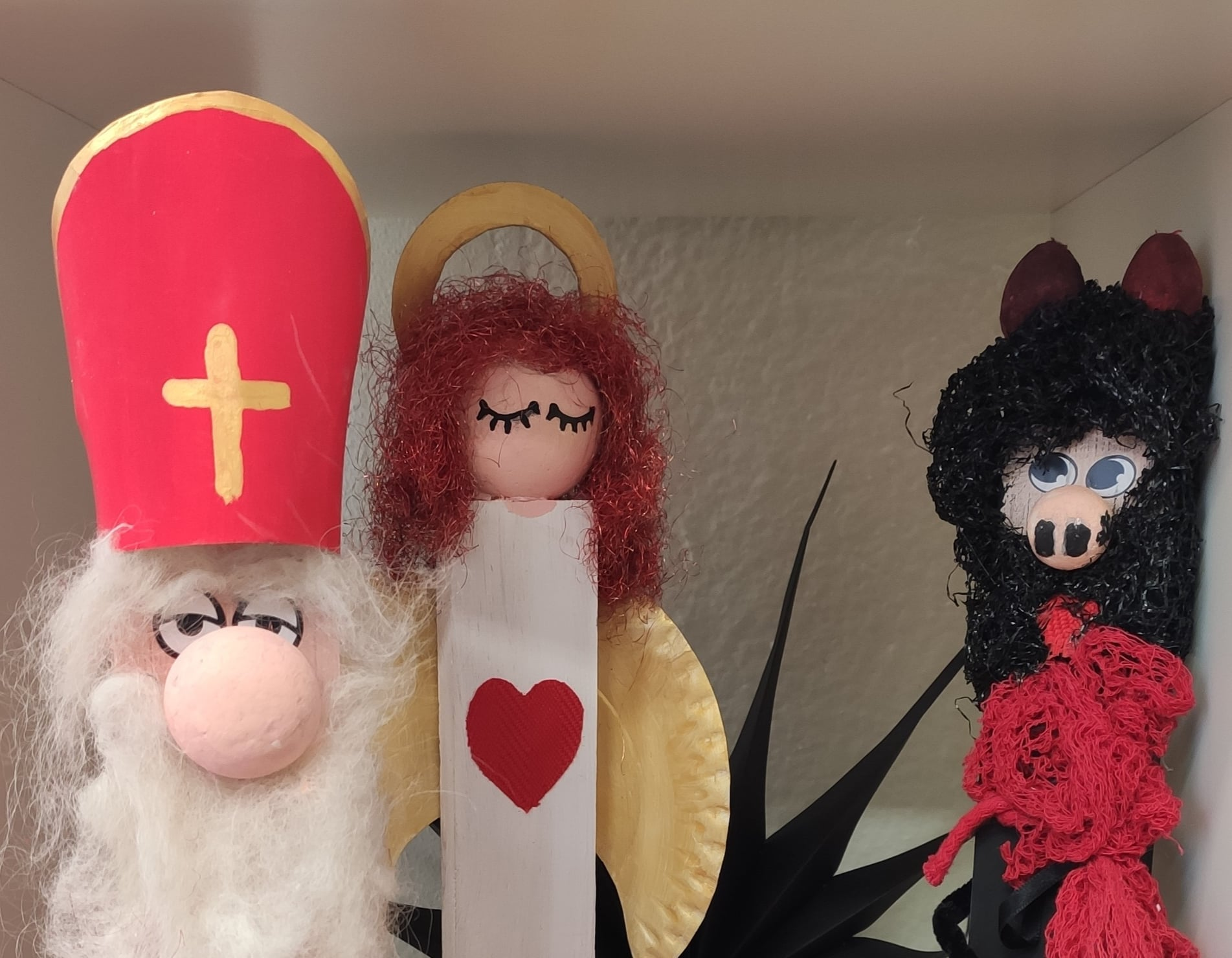 Čert, anděl a Mikuláš