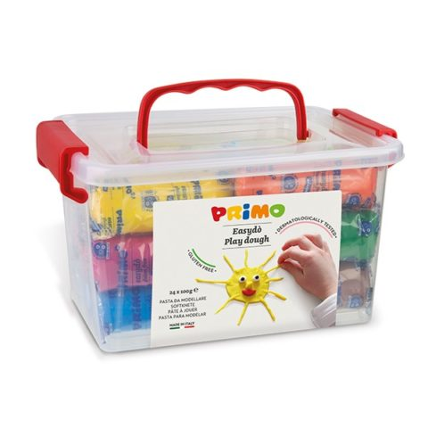 Sada mod. hmot PRIMO NATUR, 24 x 100g, mix barev, PP box