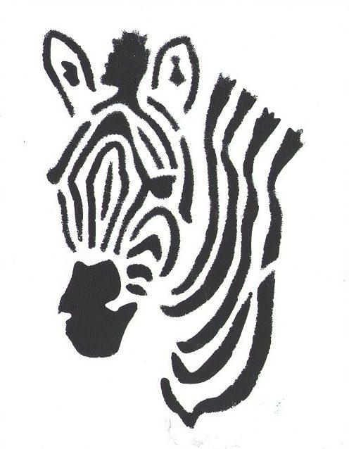 Malba plastelínou s použitím šablony