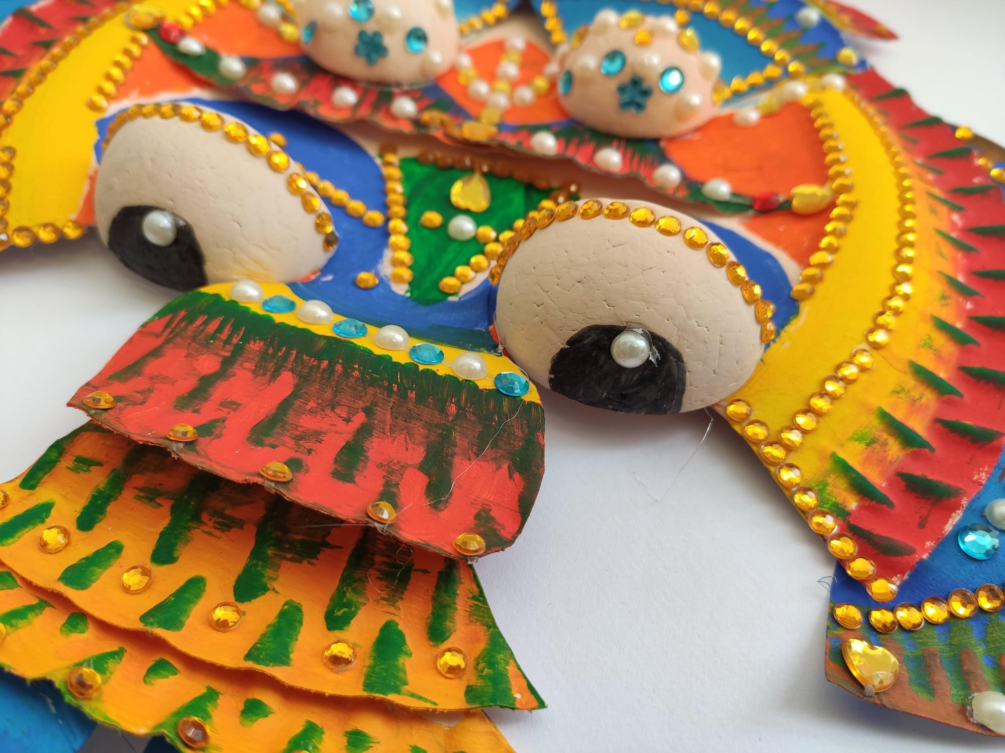 Karnevalová maska – drak