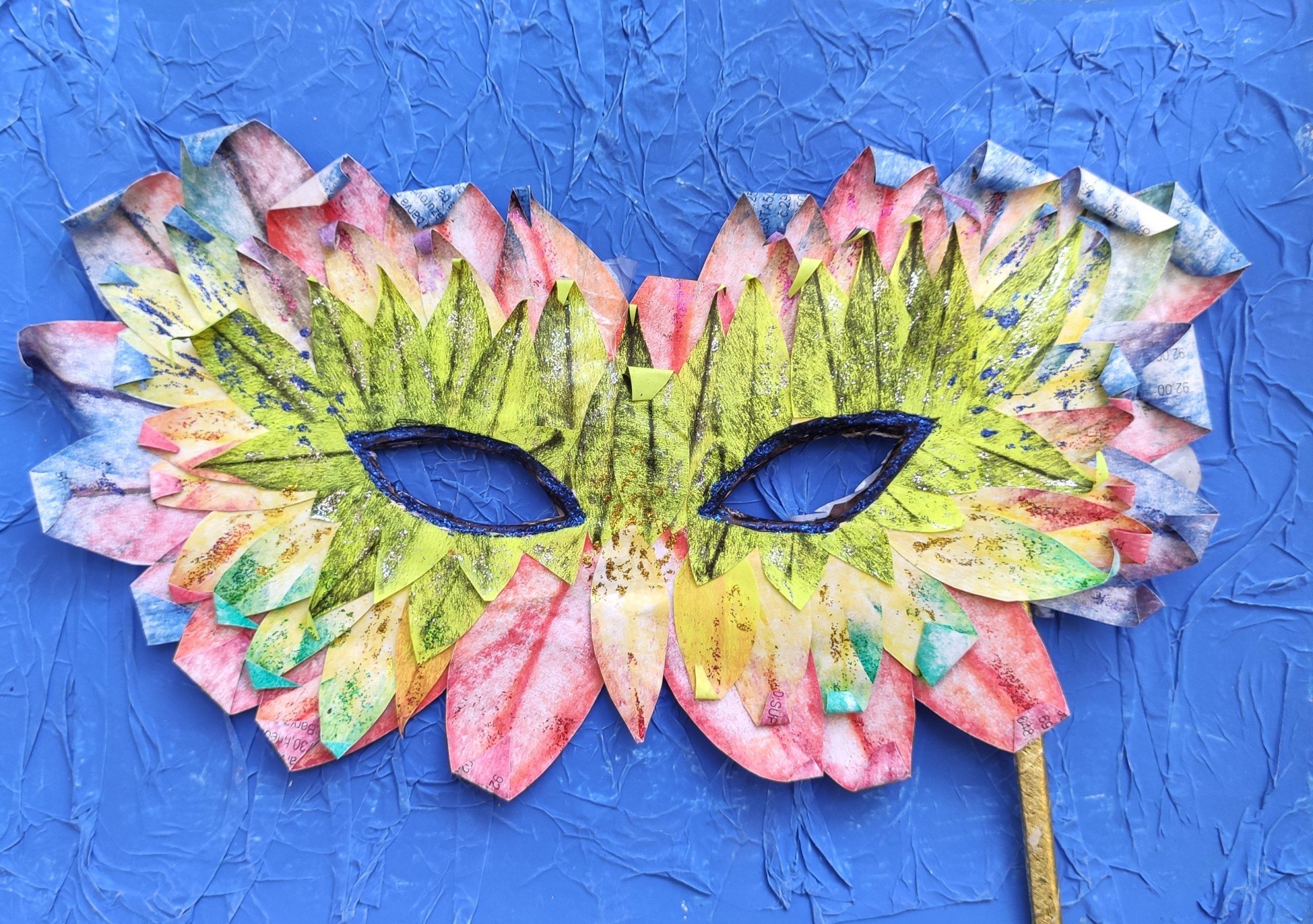 Karnevalová maska – škraboška
