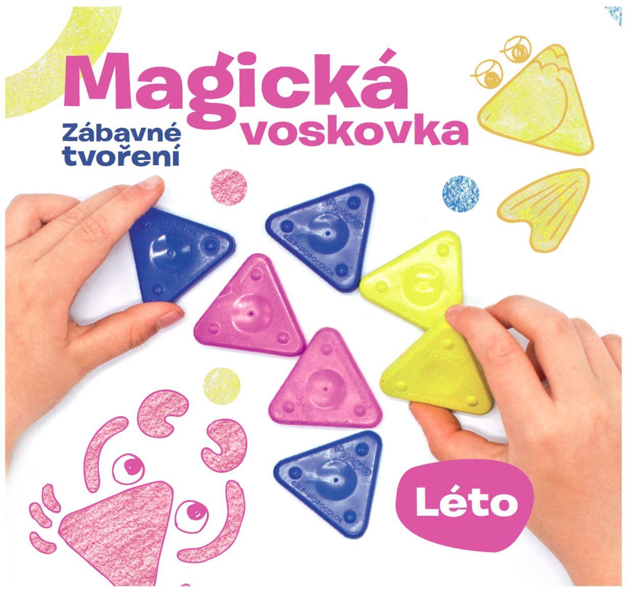 Kniha – Magická voskovka; Zábavné tvoření, díl 2. LÉTO