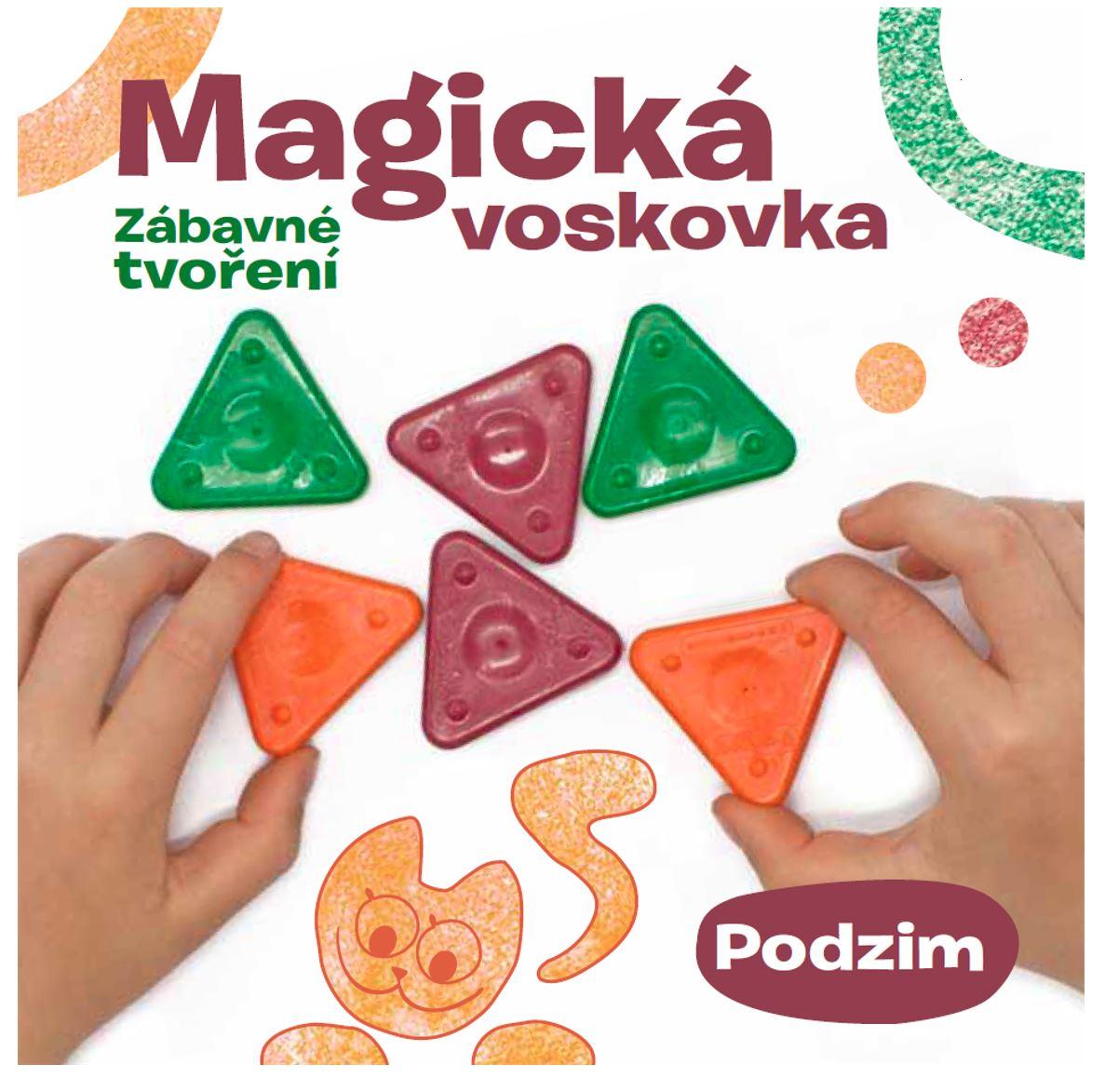 Kniha – Magická voskovka; Zábavné tvoření, díl 3. PODZIM